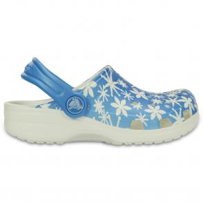 Crocs Kids Classic Snowflake, The original kids Croc shoe