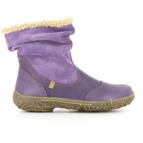 El Naturalista N758 Boot Purple, style, warmth and comfort in one boot