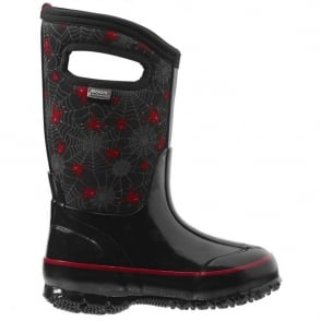 Bogs 71855 Classic Creepy Crawler Black Multi, 100% waterproof wellington boots