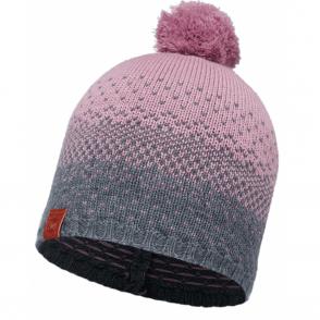 Buff Mawi Merino Wool Knitted Hat Lilac Shadow, warm and soft merino wool hat