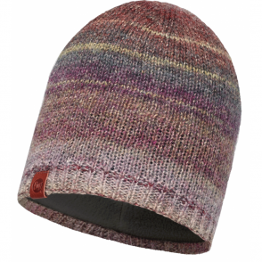 Buff Liz Knitted Hat Multi/Grey Fleece, warm and soft hat with inner fleece band