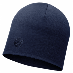Buff Thermal Merino Wool Hat Denim, ideal for out door activities or to protect from extreme cold weather