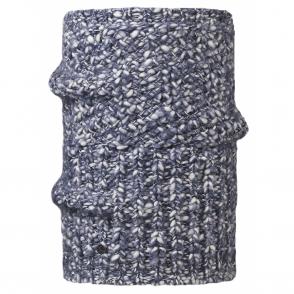 Buff Collar Blend Tay Indigo, Cunky knitted neckwarmer