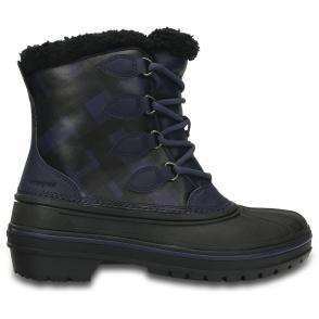 Womens AllCast Boot Midnight, waterproof Crocs boot