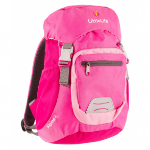 LittleLife 12212 Alpine 4 Kids Daysack Pink, miniature mountain rucksack