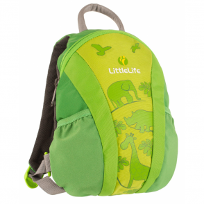 LittleLife 10783 Toddler Daysack Runabout Green, the original toddler backpack with reins