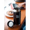 Klean Kanteen 473ml Wide Insulated Black Eclipse, Double-Wall Vacuum Insulated Bottle & Mug