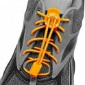Nathan Lock Laces Orange, Never Tie Laces Again!