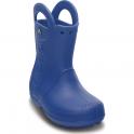 Crocs Kids Handle it Rain Boot Sea Blue, Easy on wellington