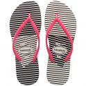 Havaianas Slim Graphic White/Pink, Slim ladies fit