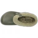 Crocs Blitzen II Clog Dusty Olive/Clay, easy to remove liner