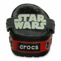 Crocs Kids Darth Vader Lined Clog Black, Fur lined clog inspired by Star Wars