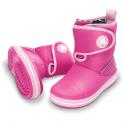 Crocs Kids Chameleon Crocband Gust Boot Fuchsia/Bubblegum, colour changing winter boots