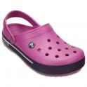 Crocs Crocband II.5 Clog Wild Orchid/Royal Purple, Retro styled slip on croslite shoe