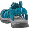 KEEN Womens Whisper Celestial/Corydalis Blue, a narrow version of the orignal sandal with toe bumper