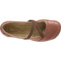 KEEN Womens Rivington II Brown, mary jane leather flat
