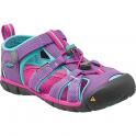KEEN Kids Seacamp II Purple Heart/Very Berry, a low profile lightened version of the orignal sandal