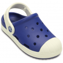 Crocs Bump It Clog Cerulean Blue/Oyster, vintage sneaker inspired single sized clog