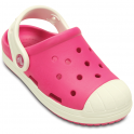 Crocs Bump It Clog Candy Pink/Oyster, vintage sneaker inspired single sized clog