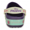 Crocs Kids Crocslights Frozen Fever Clog Blue/Violet, the comfort of a classic but with fun LED frozen design!