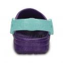 Crocs Kids Classic Frozen Clog Neon Purple, the classic but with a frozen twist!