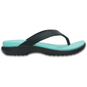 Crocs Capri V Flip Navy/Pool, the classic flip but with new thinner straps