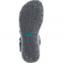 Merrell Terran Convertible II Navy, breathable mesh & leather sandal
