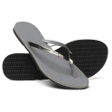 Havaianas You Metallic Grey, thin and elegant flip flop for women