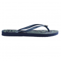 Havaianas Slim Thematic Navy Blue, flip flop inspired by the arts and crafts of Bhutan's artists