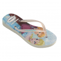 Havaianas Youth Slim Princess Frozen White, made for Princesses