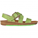El Naturalista ND30 Contradiction Sandal Green, chunky leather sandal