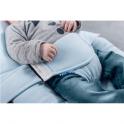 Doomoo Seat Leaves Petrol, Bean Bag for Babies & Kids