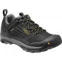 KEEN Mens Saltzman Low WP Black/Yellow, the perfect light weight waterproof hiking shoe
