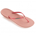 Havaianas Ring Light Pink, the original flip flop with a touch a elegance