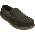 Crocs Santa Cruz 2 Luxe Leather Espresso/Walnut, comfortable smart adn refined