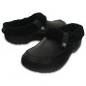 Crocs Blitzen II Clog Black/Black, easy to remove liner