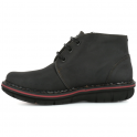 The Art Company 0457 Assen Ankle Boot Black, lace up ankle leather boot