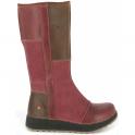 The Art Company 1025 Heathrow Boot Rioja, tall leather boot