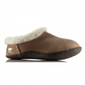 Sorel Nakiska Slipper NL1474 British Tan, suede slipper with natural rubber sole