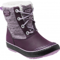 KEEN Youth Elsa Boot WP Plum/Pastel Lilac, waterproof fashionable winter boot for kids