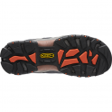 KEEN Mens Gypsum II Mid WP India Ink/Burnt Ochre, waterproof hiking boot to keep your feet dry and free of debris