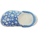 Crocs Kids Classic Snowflake, The original kids Croc shoe