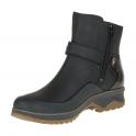 Merrell Womens Eventyr Strap WP Black, waterproof ankle boot