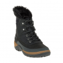 Merrell Womens Sylva Mid Lace WP Black, waterproof lace up boot