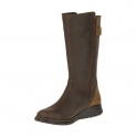 Merrell Womens Travvy Tall WP Clay, tall waterproof leather boot