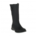 Merrell Womens Travvy Tall WP Black, tall waterproof leather boot