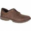 CAT Mens Caden Dark Brown, leather lace up shoe