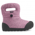 Bogs 720131 Infant B-Moc Fleece Pink, 100% waterproof wellington boots with adjustable draw cord system