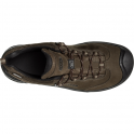 KEEN Mens Wanderer WP Cascade Brown/Dark Earth, waterproof walking shoe