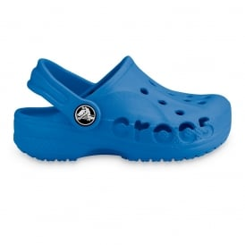 Kids Baya Shoe Sea Blue,  A twist on the Classic Crocs slip on shoe